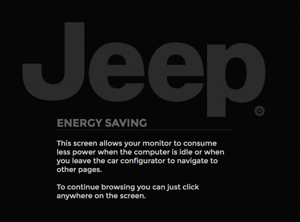 Jeep Screen Saver